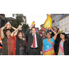 Andrew at the Northampton Diwali celebrations in 2009