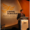 Andrew at Lib Dem Conference 2004