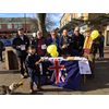 Daventry Lib Dems out Campaigning in Bowen Square