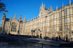 Houses of Parliament Westminster in London