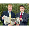 Andrew with Charles Kennedy MP