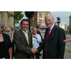 Andrew with Sir Menzies Campbell MP on his visit to Northampton