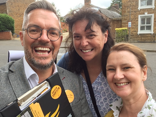Andrew Simpson and Lib Dems selfie