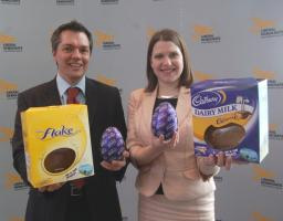Andrew Simpson with Jo Swinson MP